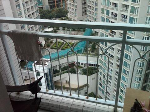 19 floors up