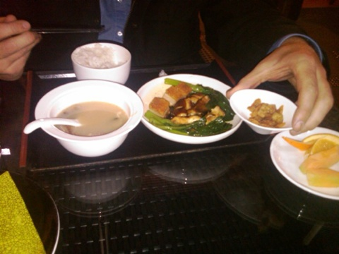 Day 10 cantonese food chinese airport food is much better than usa 2