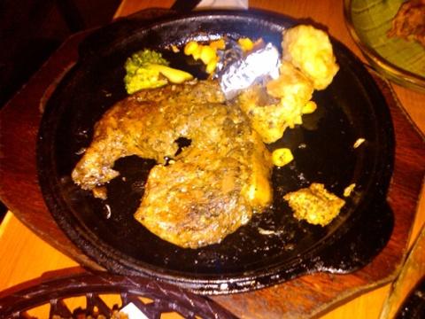 Day 14 japanese lamb chops pretty hard to mess up lamb