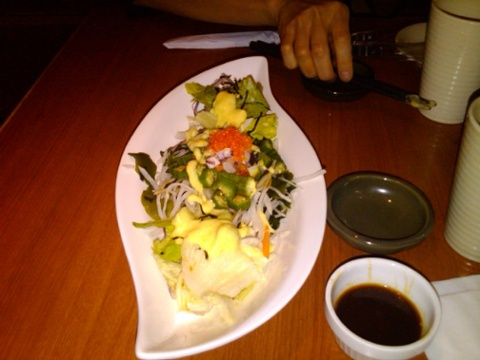Day 14 japanese salad