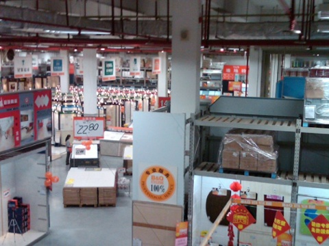 Day 21 bq is like the european home depot