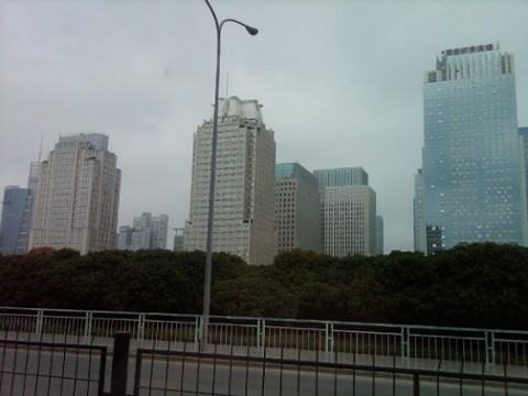 Day 24 futian skyline around coco park 3