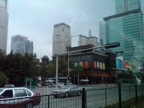 Day 24 futian skyline around coco park 4