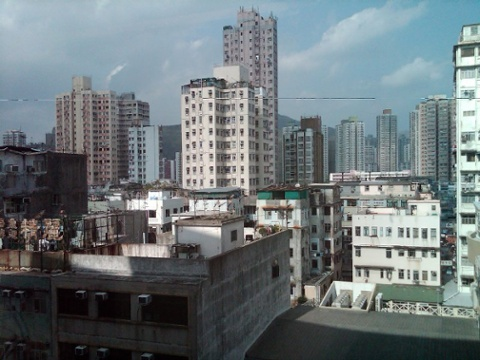 Day 26 a small town in the hong kong new territories