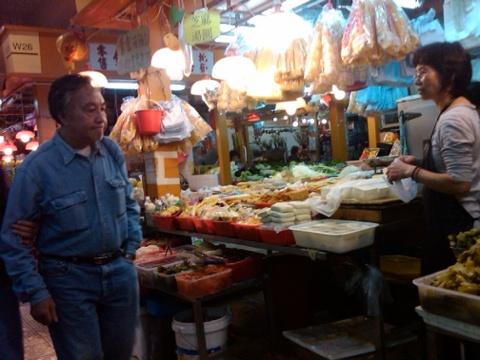 Day 26 tofu vendor