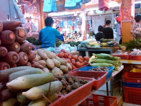 Day 26 vegetable vendor
