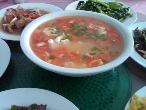 Day 31 tomato egg soup.