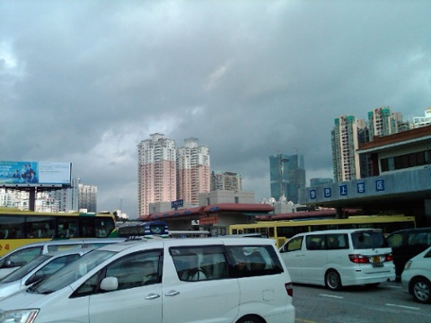Day 37 huanggang shenzhen skyline