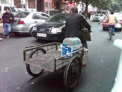 Delivery trike