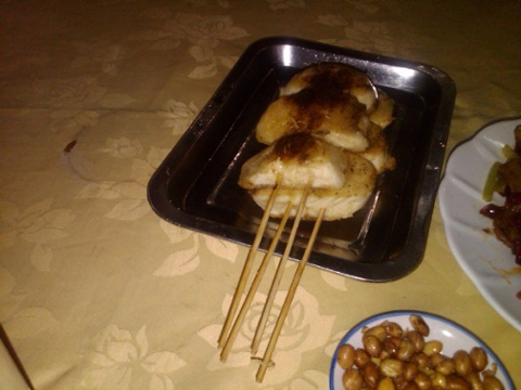 Dongbei style grilled buns very very tasty