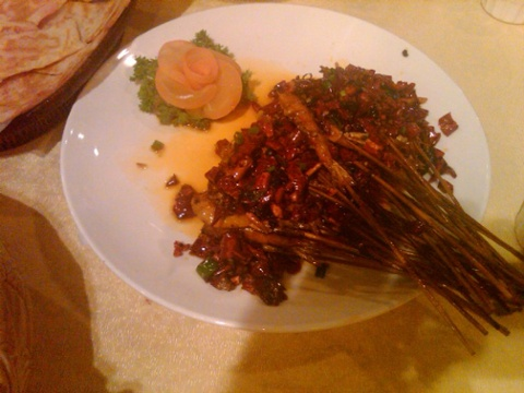 Soft shell shrimp with chiles you eat the shells one of my favorites